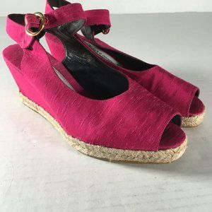 Andre Assous Pink Wedges
